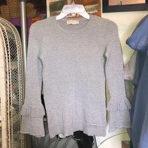michael khors glittery silver sweater